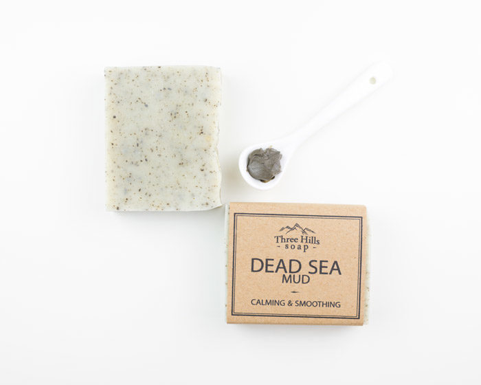 Dead Sea Mud best natural calming and smoothing handmade soap