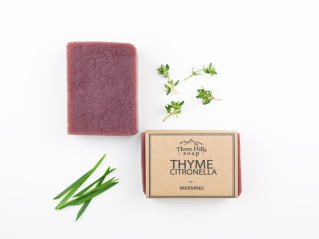 Thyme Citronella best natural warming handmade soap