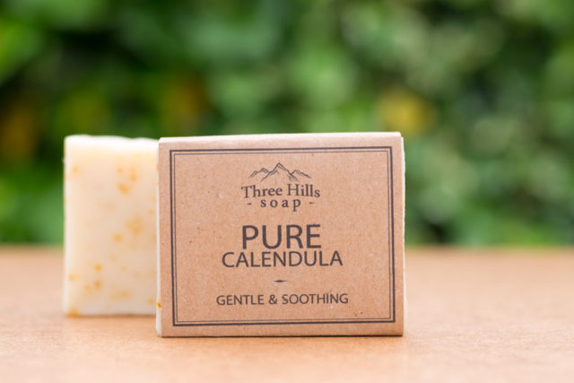 pure calendula soap