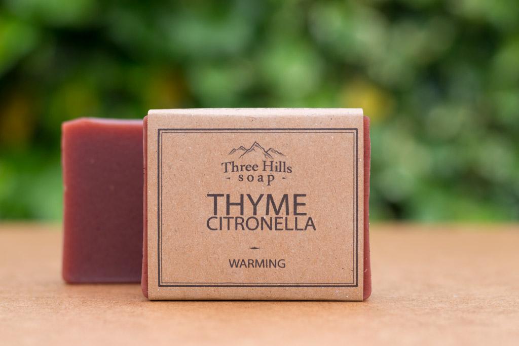 thyme citronella soap
