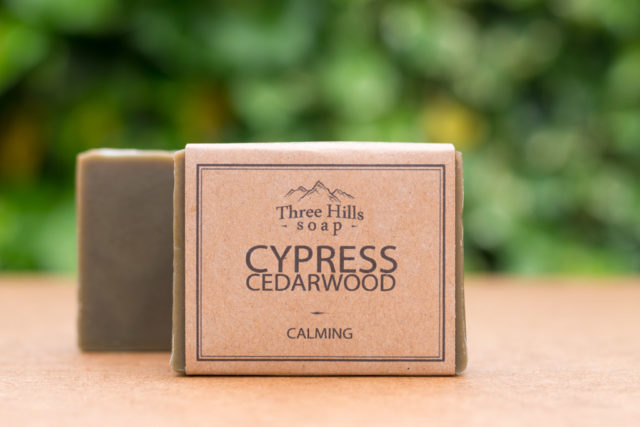 cypress cedarwood soap