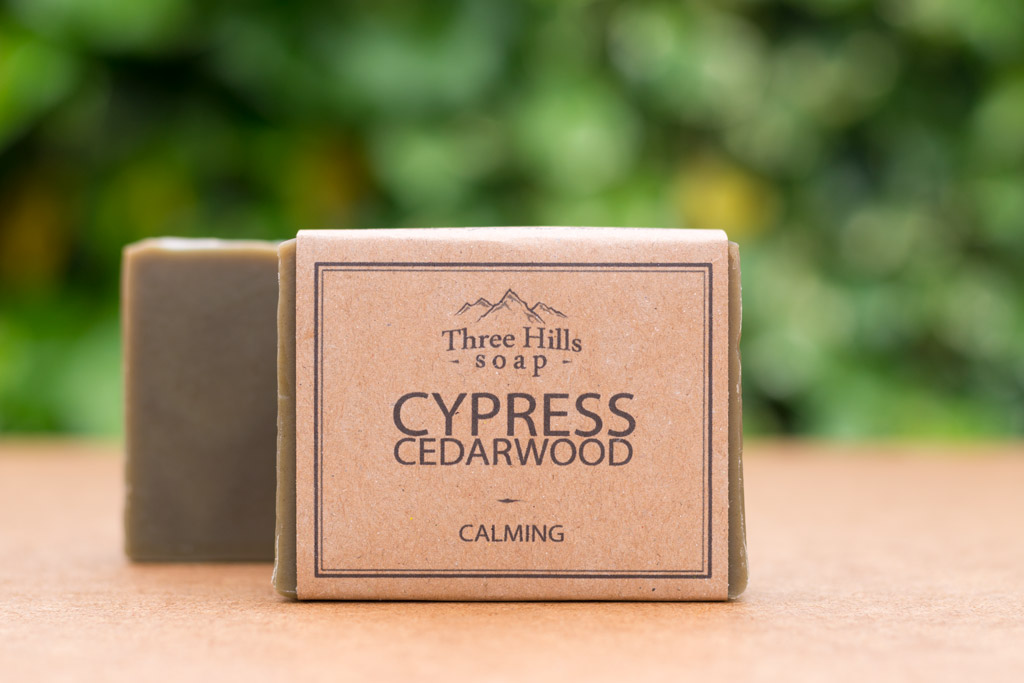cypress cedarwood soap