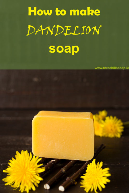How to make Dandelion soap