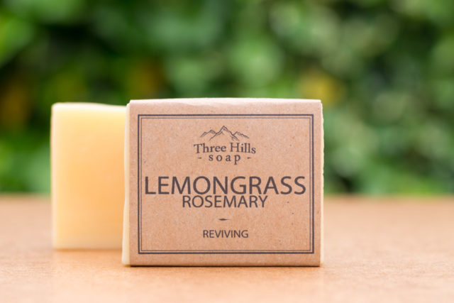 lemongrass rosemary soap