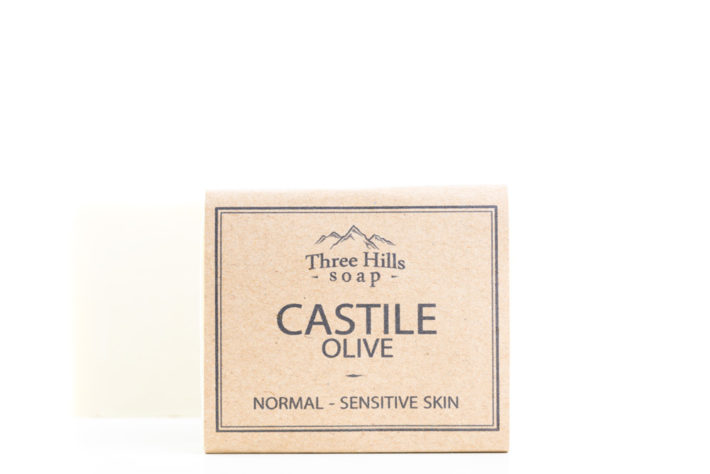 Two castile olive oil soaps