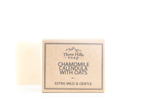 chamomile soap with oats