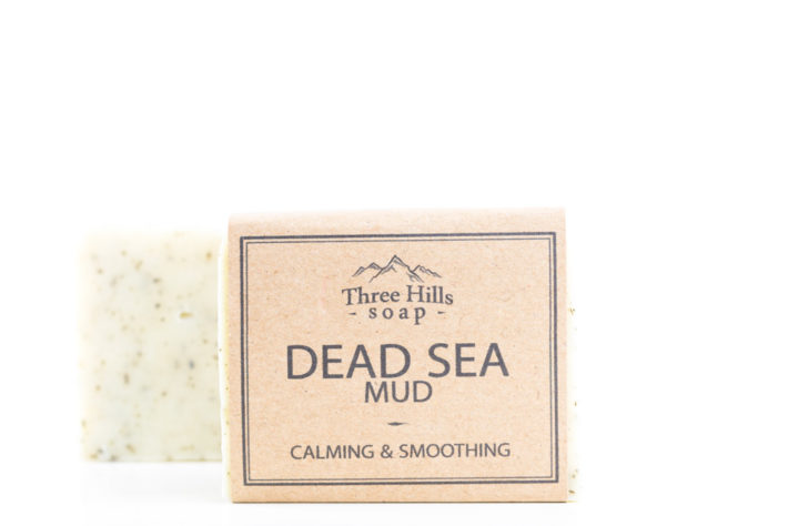 Two dead sea mud soaps