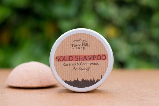 anti-dandruff solid shampoo