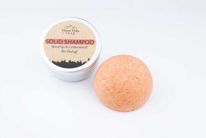 Anti dandruff solid shampoo