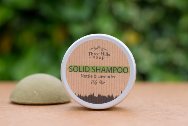 solid shampoo for oily hair